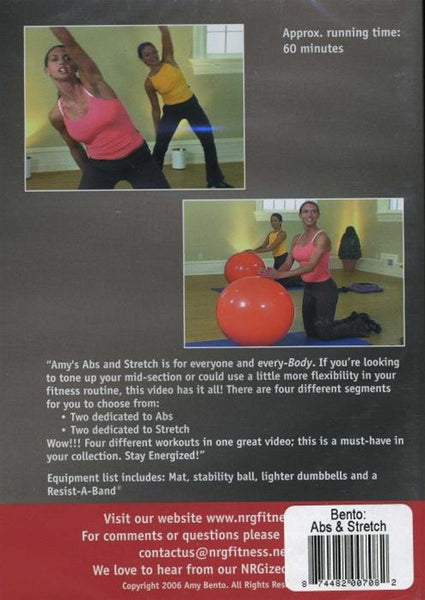 Amy Bento Abs And Stretch DVD