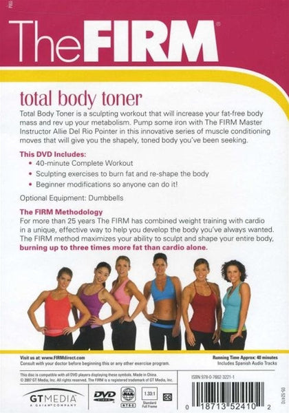 The Firm Total Body Toner DVD