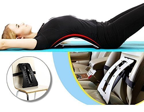 Magic Back Stretcher Lumbar Support Device | Upper and Lower Back Pain Relief