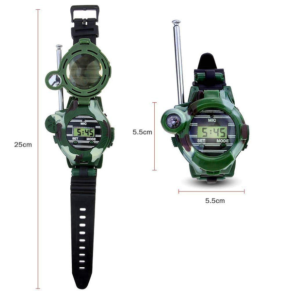 Walkie Talkies for Kids, Two-Way  Watch Radio Transceiver with Flashlight for Children