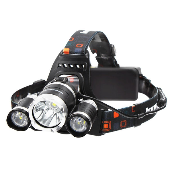 13000 Lumens 4 Modes Headlight | Headlamp | Flashlight