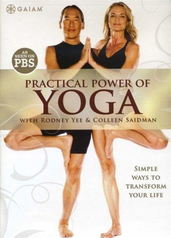 The Practical Power Of Yoga Rodney Yee And Colleen Saidman DVD