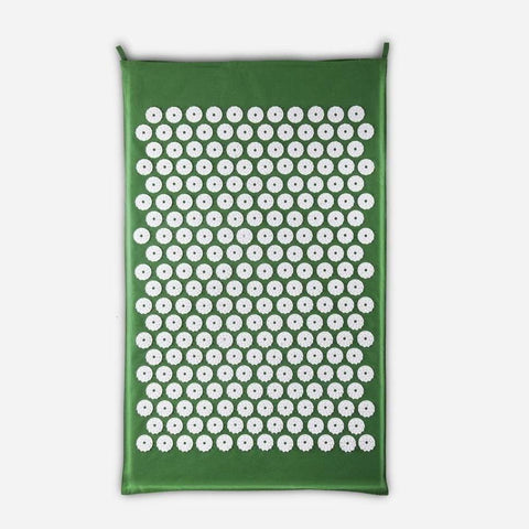 Bhakti Mat Original Free Spiky balls | Acupressure Mat Green Orange