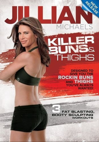 Killer Buns and Thighs DVD - Jillian Michaels