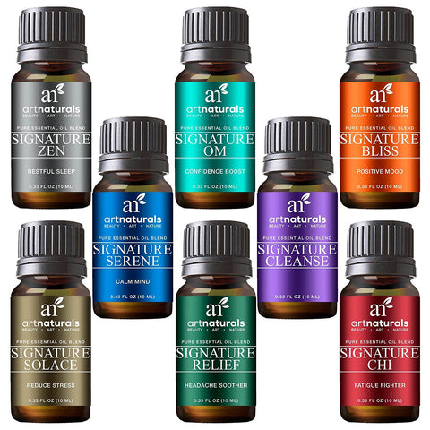 Signature Blend Essential Oils Set 8 | 100% Pure of The Highest Quality