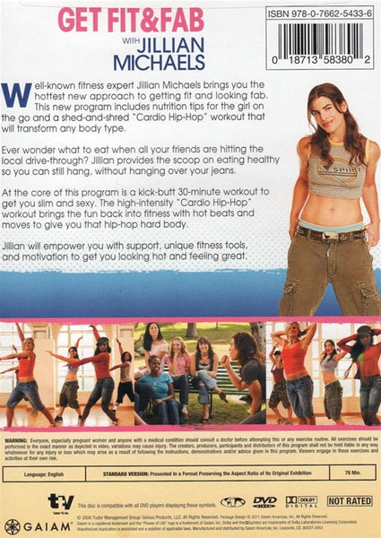 Get Fit and Fab with Jillian Michaels DVD