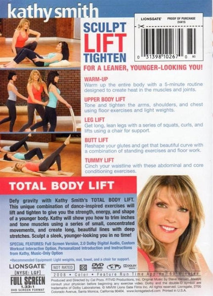 Kathy Smith Total Body Lift DVD
