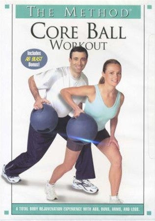 The Method Core Body Sculpting Ball Workout DVD