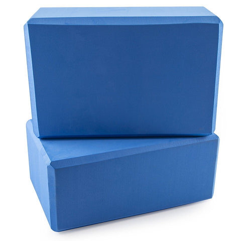 Peace Yoga Foam Exercise Blocks (2 Pack)
