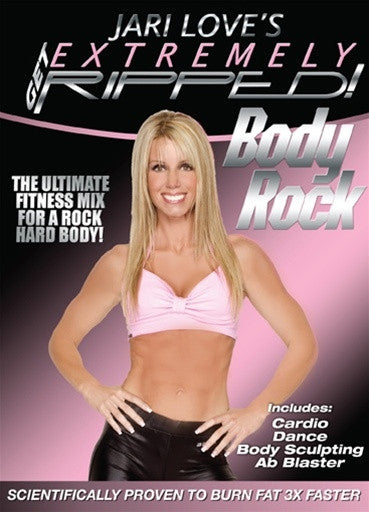 Jari Love Get Extremely Ripped Body Rock DVD