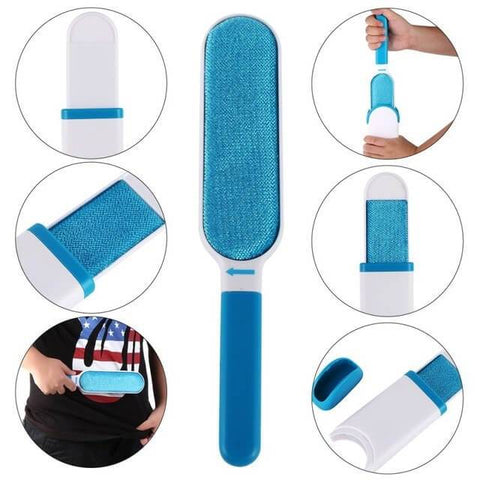 PET FUR & LINT REMOVER - THE LAST LINT BRUSH YOU'LL EVER NEED