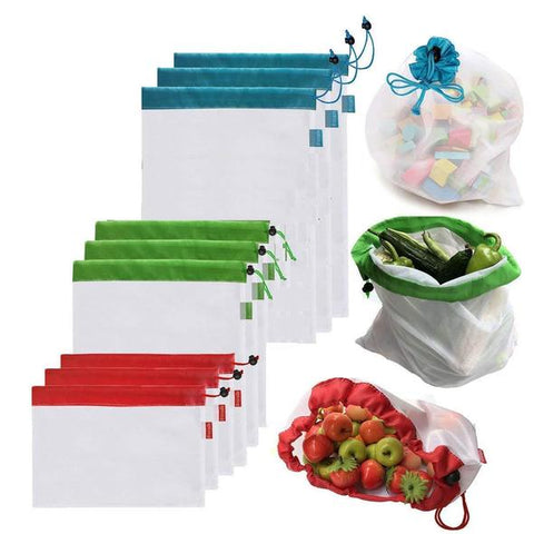 Eco-Friendly Produce Bags (9PCs)
