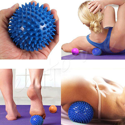 10cm Hard Spiky Massage Ball - 2 pc