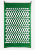 Bhakti Mat Original  Free Pillow | Acupuncture Mat Green