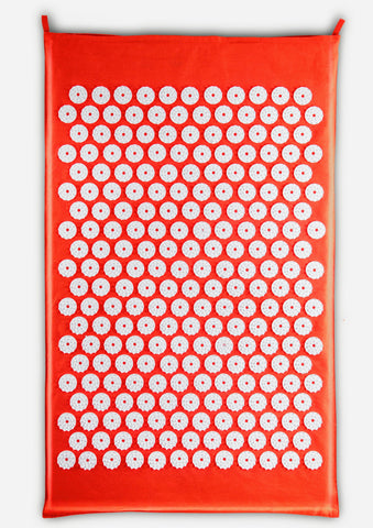 Bhakti Mat Original Free Spiky balls | Acupressure Mat Orange