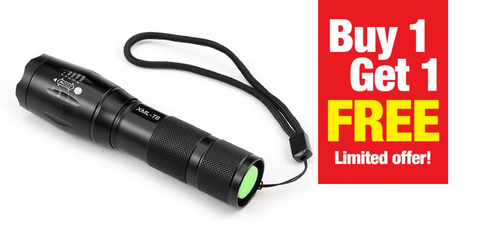 LED Flashlight Torch | BUY ONE GET ONE FREE