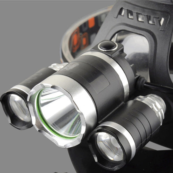 9000 Lumens 4 Modes Headlight Head Lamp