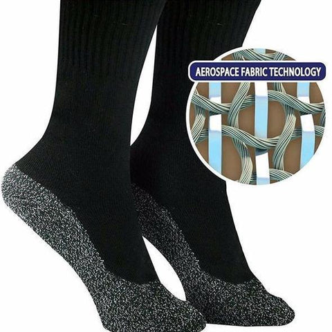 35 Below Aluminized Fibers Socks