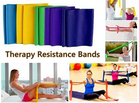 Set 3 FITNESS Resistance  Exercise  Bands