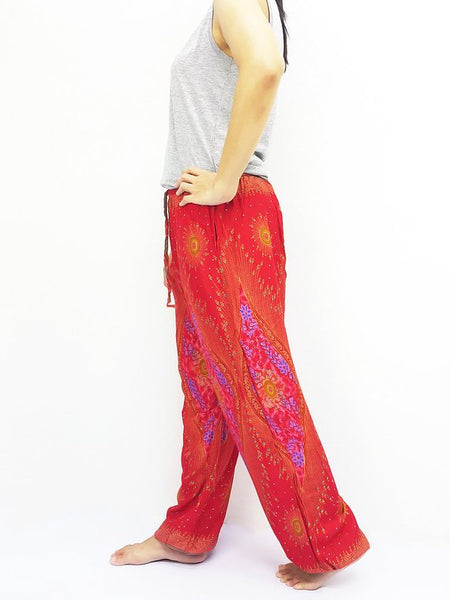 Comfy Trouser Peacock Red Uni ST127