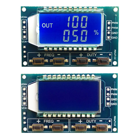 New Signal Generator PWM Pulse Frequency Duty Cycle
