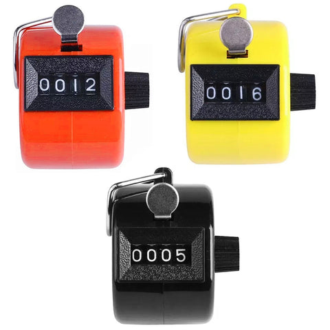 Mini 4 Digits Hand Tally Counter Mechanical