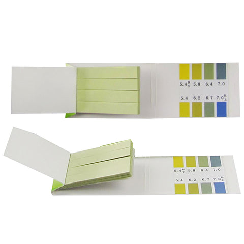 Hot Accurate 80 Pieces PH 5.4-7.0 Test Papers Strips