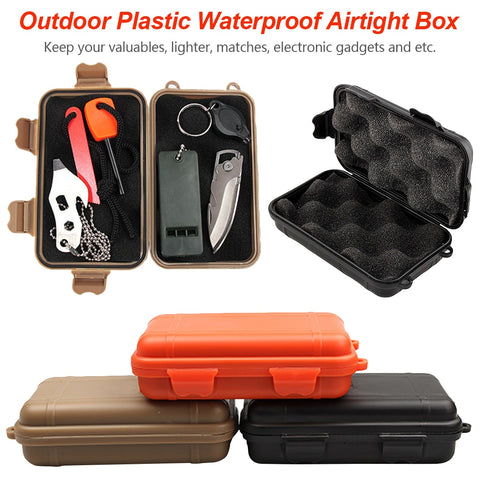 Airtight Survival Case Container Storage Carry Box