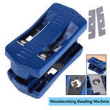Plastic Double Edge Trimmer Banding Machine Set