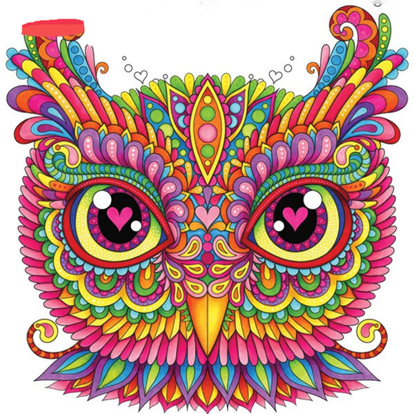 Diamond Mosaic Full Display Owl 5D Diamond Painting Animal