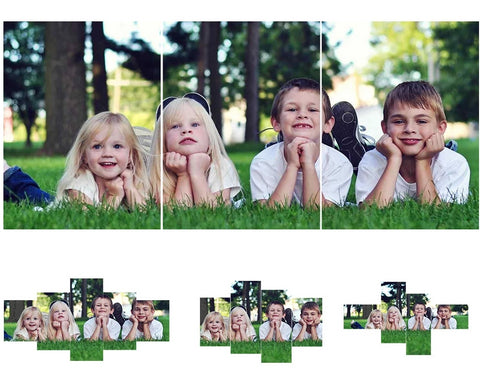 Photo Custom Multi-Pictures Combination Diamond Painting