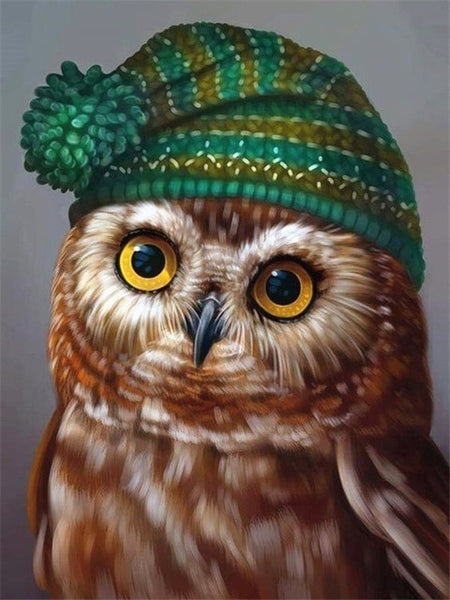 5D Diamond Painting Owl Diamond Embroidery