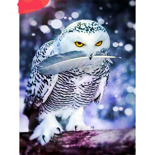 Diamond Mosaic Full Layout Owl Diamond Painting