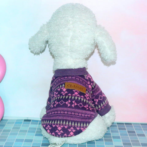 New Dog Sweaters Fashion Pet Dog Jacket