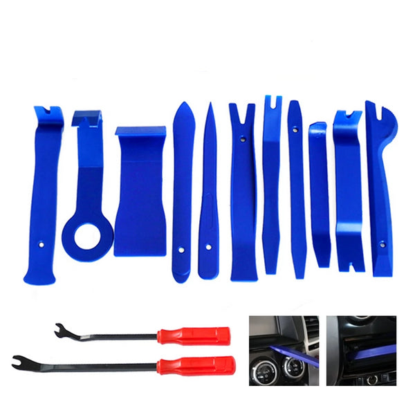Interior Door Clip Panel Trim Dashboard Tool 13pcs