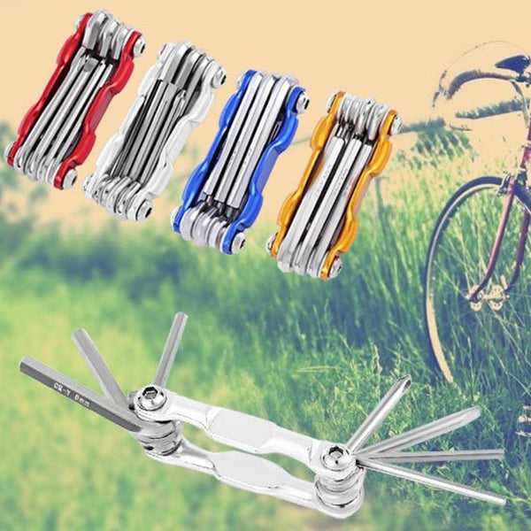 6 in 1 Bicycle Tools Sets Mountain Bike Cycling Multi Repair Tool Kit
