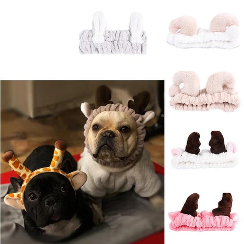 9 styles Pet Dog Cats Headdresses Fleece Soft Lovely Pets
