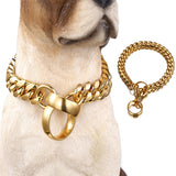 Gold Chains Dog Pet Leashes