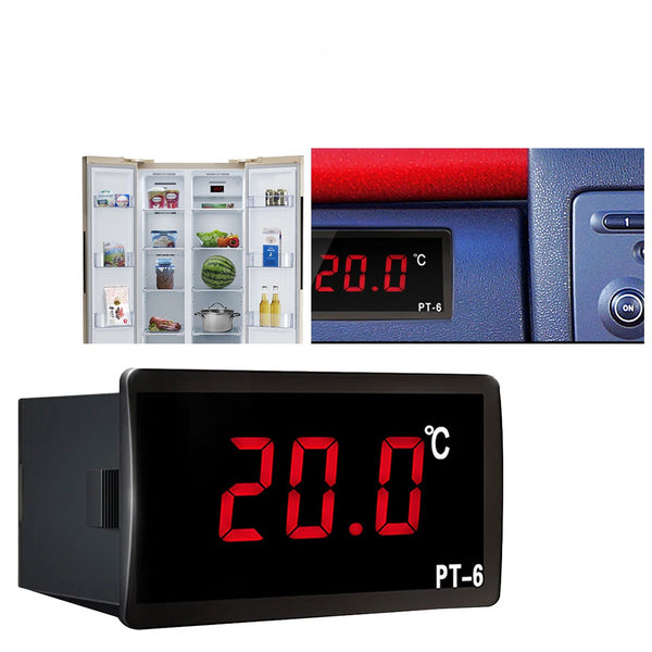 -40 to 110C Digital Car Thermometer Vehicle Temperature Meter