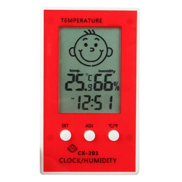 Hygrometer Baby Smile Crying Face Humidity Meter