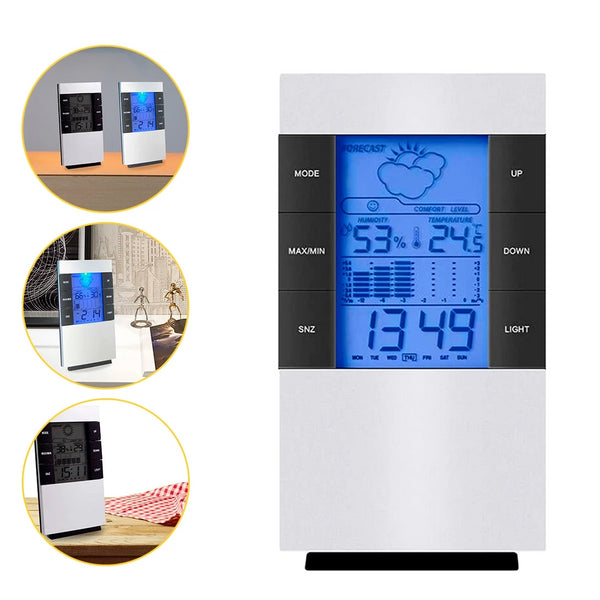 Household Digital LCD Display Hygrometer Thermometer