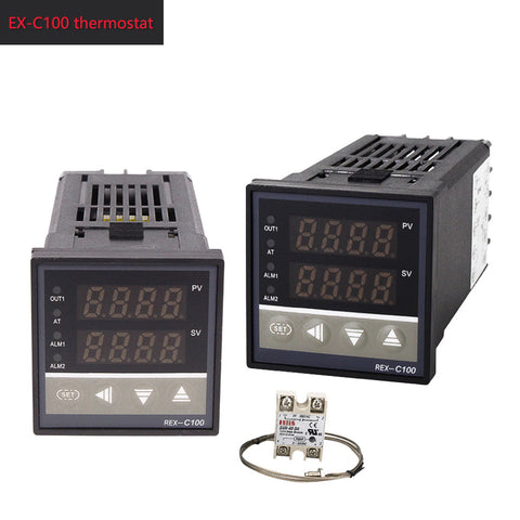 Digital 220V PID REX-C100 Temperature Controller