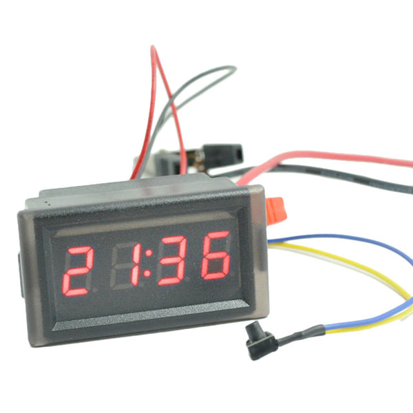 DC 4.5-30V Digital LED -50 ~ 110C Thermometer