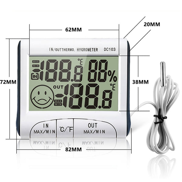 Weather Station Household Indoor and Outdoor Use Temperature