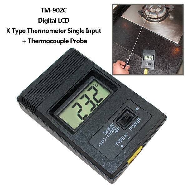 1pcs TM-902C (-50C to 1300C) Temperature Meter