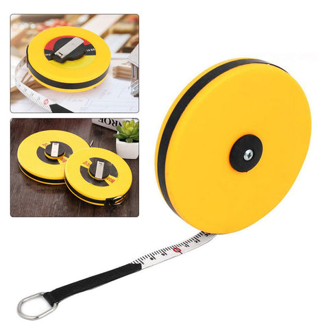 10/15/20/30m Hand Disc Flexible Ruler Measuring tool