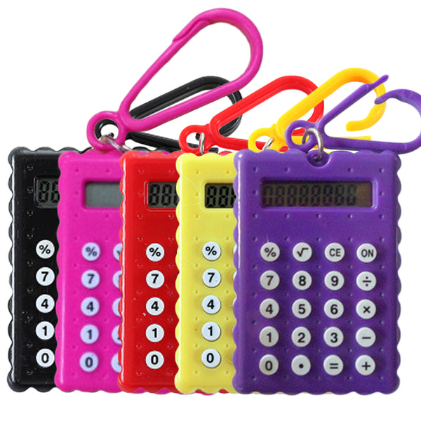 Student Mini Electronic Calculator Candy Color