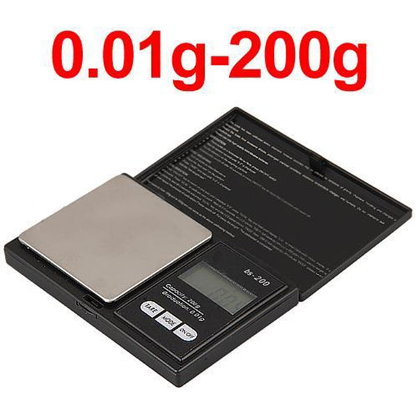 Scale 200g x 0.1g LED Luminous Pocket Electronic Scale