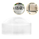 50/60mm Optical Glass Half Ball Paperweight  Magnifier