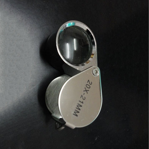 20x 21mm Jewelers Eyes Optical Glass Loupe Magnifie